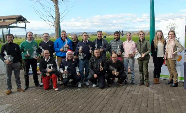 Éxito del 'XI Torneo Benéfico de Navidad' en Palomarejos Golf
