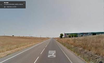 Dos heridos en un accidente en la carretera de la Puebla de Montalbán