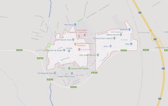Captura de pantalla: Google Maps