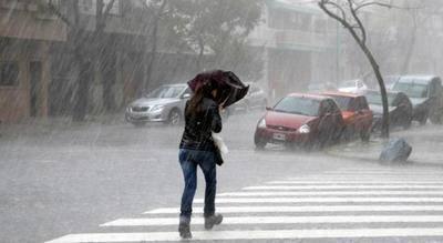 Un final de verano con lluvias torrenciales