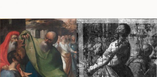 Una exposición del Museo del Greco revela desde el próximo martes cómo se restauró 'Pentecostés' de Herrera el Viejo