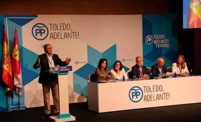 José Julián Gregorio, elegido nuevo presidente provincial del PP en Toledo