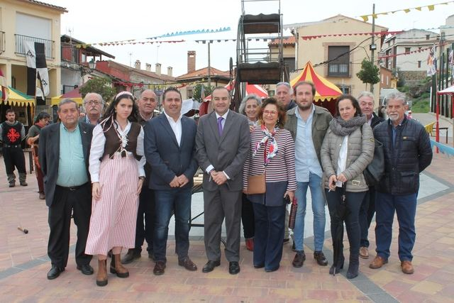 Gregorio valora las obras de recursos hídricos del Tajo a la Zona Regable del Canal Bajo Alberche