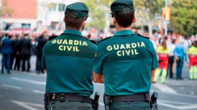 Hasta allí se desplazó la Guardia Civil.