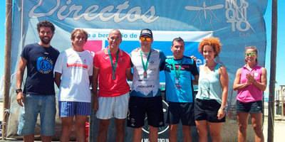 Rubén Gutiérrez, Subcampeón Absoluto de la Travesía a Nado 'Playas de Punta Umbría'