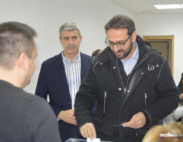 Gutiérrez (PSOE) pide a PP y Cs que respeten la lista más votada