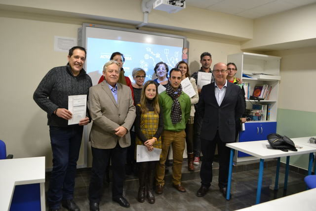 Academia Goma entrega los certificados de fin de curso a 15 alumnos