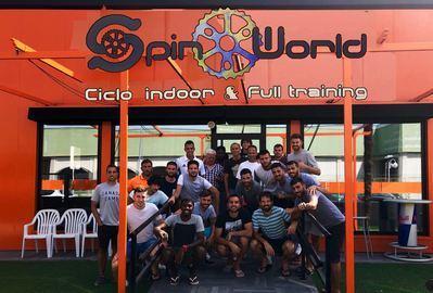 El gimnasio Spin World colabora un año más con el CF Talavera