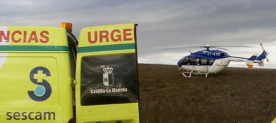 Heridos dos ocupantes de una avioneta tras un aterrizaje forzoso