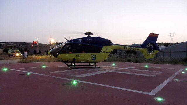 Habrá un helipuerto del SESCAM en Espinoso del Rey