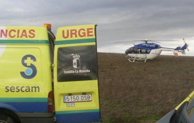 Trasladan al hospital de Albacete a un joven herido por arma blanca en Villarrobledo