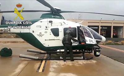SUCESOS | Evacuado en helicóptero