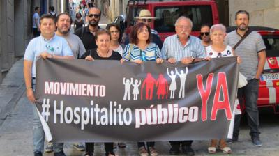'¡Hospitalito ya!' reclama a García Molina que recuerde su apoyo