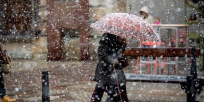 Alerta en Castilla-la Mancha por nieve y viento