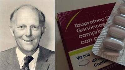 Muere el científico que creó el ibuprofeno para curar su propia resaca