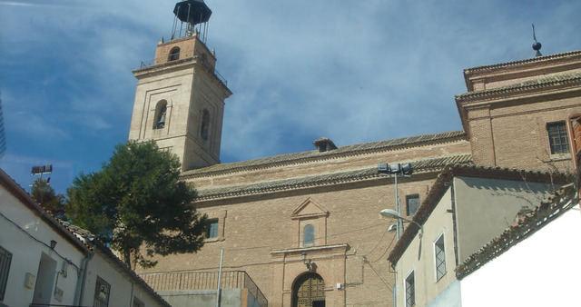 Iglesia de San Cipriano en la localidad de Cebolla.