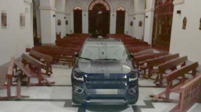 La Familia del joven que entró con un coche en la iglesia de Sonseca se disculpa y dice que asumirá los daños ocasionados