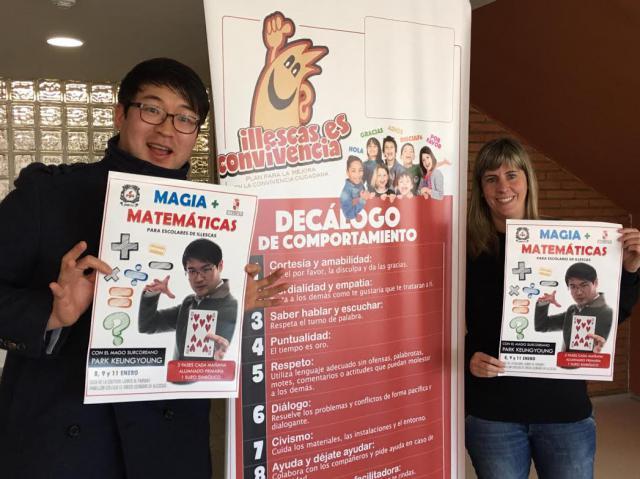 Magia y matemáticas para el alumnado de Illescas