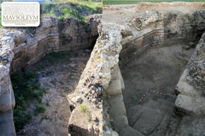 Ana Escobar y Sergio de la Llave plantean que el mausoleo de Las Vegas pudo albergar la Diócesis de Aquis