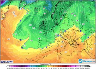 EL TIEMPO   El día de Navidad bajarán considerablemente las temperaturas en CLM