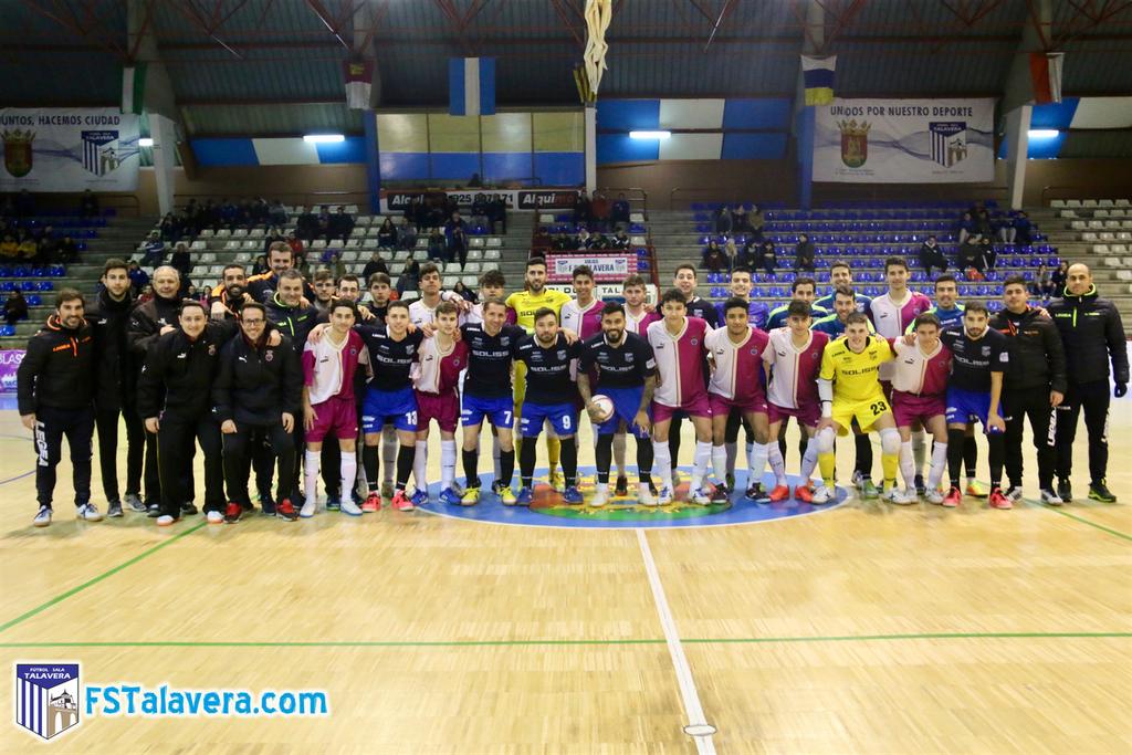 El Soliss FS Talavera testeó a la Selección Juvenil de Castilla-La Mancha
