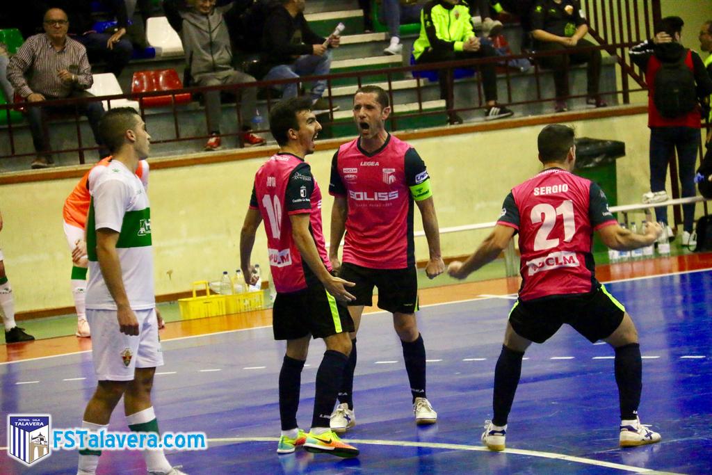 El Soliss FS Talavera vuelve a sacar petróleo del juego de cinco