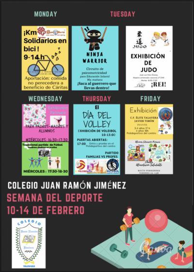 """La """"Semana del deporte"""" en el Juan Ramón Jiménez de Talavera"""