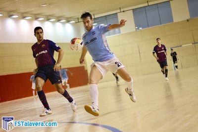 El Soliss FS Talavera supera desde el orden al filial del Barça Lassa