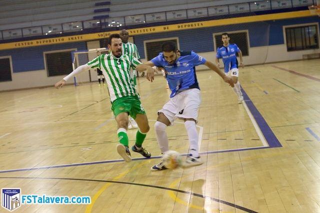 Los detalles y un gran Cidao impiden al Soliss FS Talavera sacar algo positivo de Sevilla