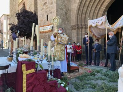 Así se ha vivido esta mañana el Corpus Christi en Talavera