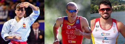 Sánchez, Alarza y Cubelos ingresan en la Real Orden al Mérito Deportivo