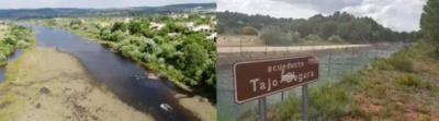"""AGUA   Impactantes vídeos del Tajo """"negro"""" y el """"saqueo"""" hasta Levante"""