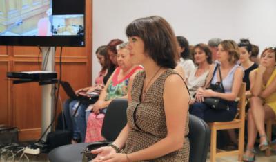 Juana Rivas responde a su abogado desde el banquillo. / Europa Press