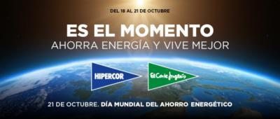Así celebra El Corte Inglés el Día Mundial del Ahorro Energético