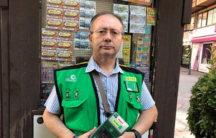 Francisco Javier Gómez Esteban es quien ha repartido la suerte en Talavera