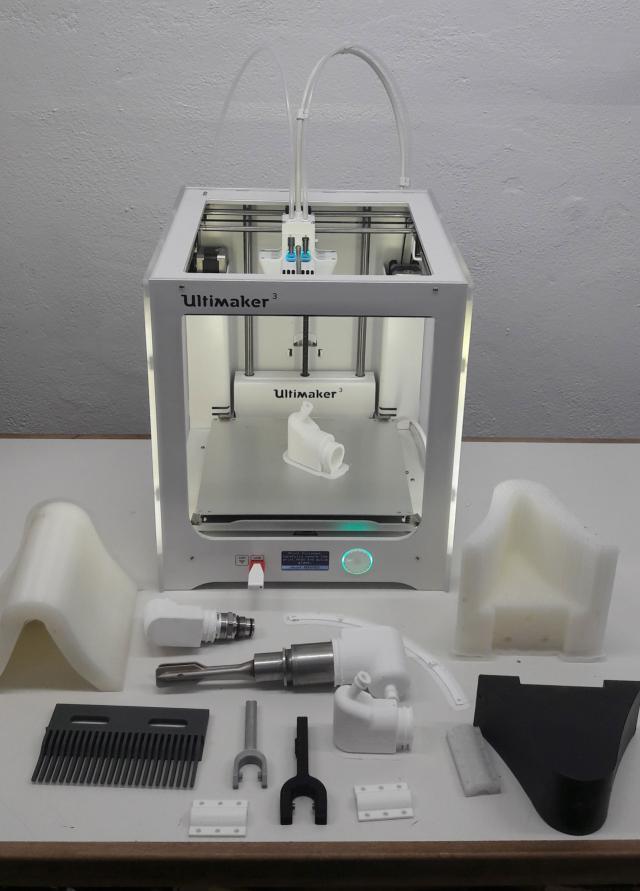 COVID-19 | Mahou San Miguel produce material para uso hospitalario con impresoras 3D