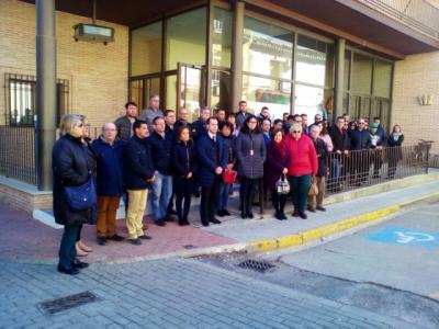 Concentración en el Ayuntamiento Concentración en el Ayuntamiento de Herencia