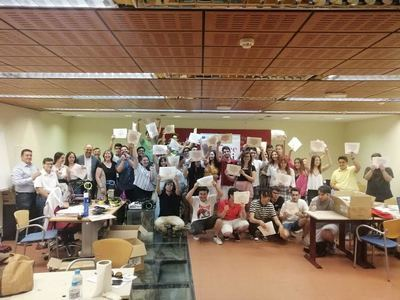45 jóvenes de Talavera finalizan su formación PICE de 'Impresión en 3D'