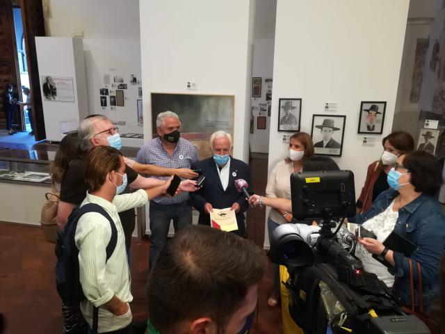 CULTURA   Inaugurada la exposición 'JOSELITO EL GALLO Y TALAVERA: 100 AÑOS DE LEYENDA'