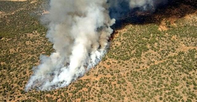 Imagen aérea del incendio / ATBRIF