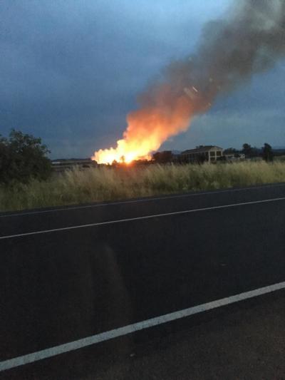 Declarado un incendio forestal en Talavera La Nueva