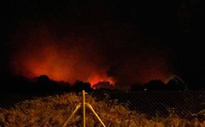 La Cruz Roja actúa en un incendio de Navalmoral de la Mata