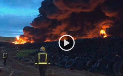 Posibles sospechosos en el incendio de Seseña