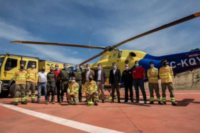 CLM destina más de 90,7 millones de euros a la lucha contra incendios
