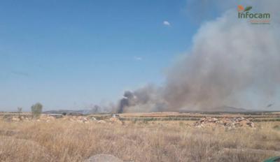 Controlado el incendio declarado en San Martín de Montalbán