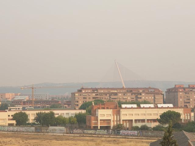 Olor a humo en la ciudad, pero… ¡No hay un incendio en Talavera!