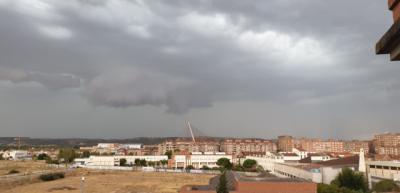 Nueve incidencias en Talavera por la tormenta de este martes