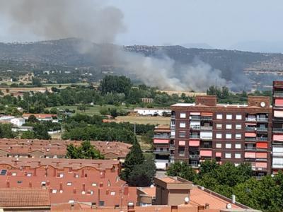 ACTUALIZACIÓN | Controlado el incendio forestal de Talavera