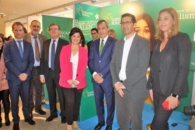 Eurocaja Rural acerca a los universitarios sus programas de prácticas y ofertas de empleo