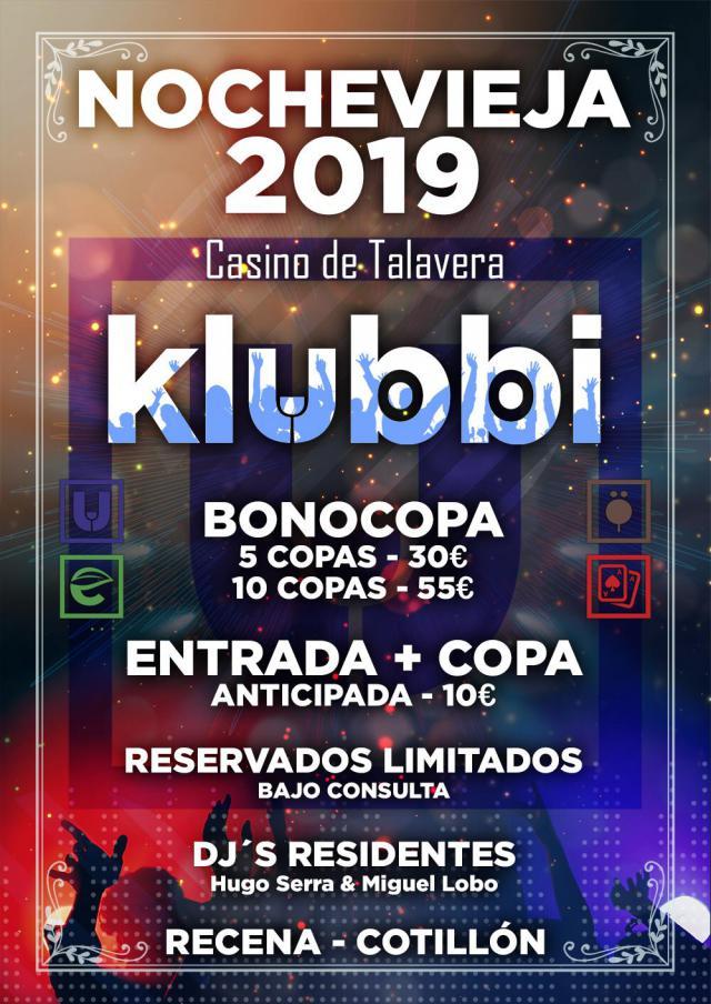 Vive la Nochevieja en Klubbi-Gardden, en el Complejo Casino de Talavera